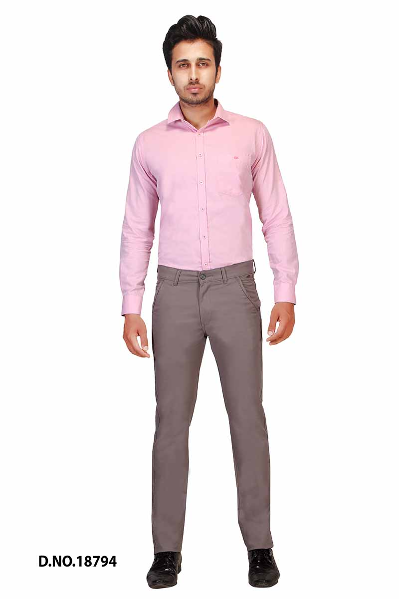 UTD POCKET 2-FOSSIL GRAY CASUAL TROUSER
