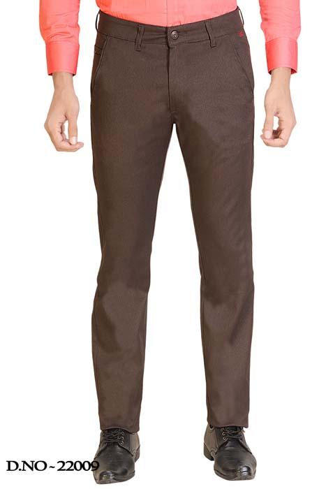 UTD STYLE 2143-COFFEE CASUAL TROUSER