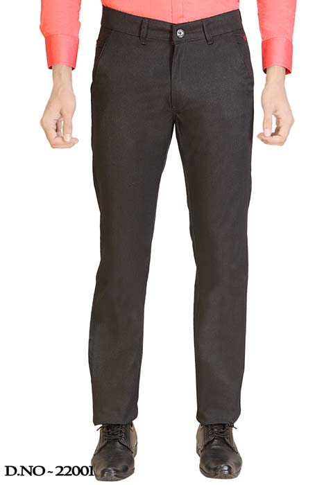 UTD STYLE 2143-NAVY BLUE CASUAL TROUSER