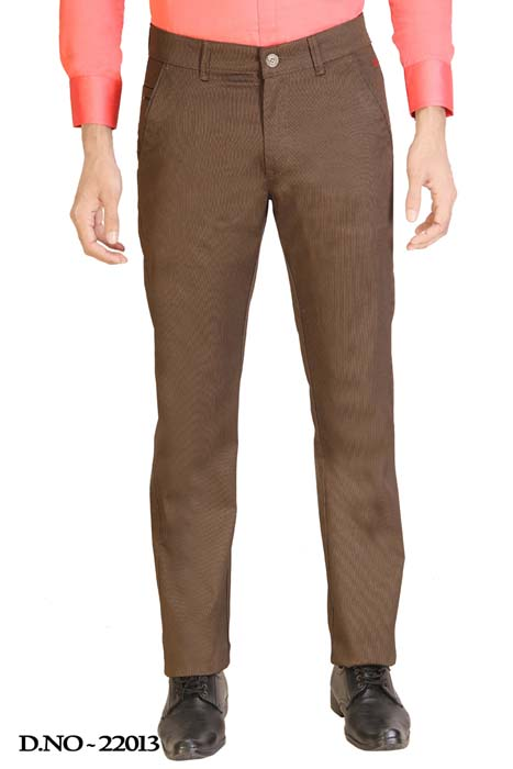 UTD STYLE 2143-COPPER CASUAL TROUSER