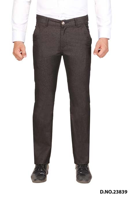 UTD STYLE 33291-COFFEE CASUAL TROUSER
