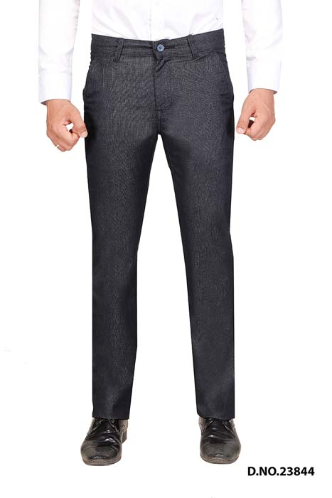 UTD STYLE 33291-NAVY BLUE CASUAL TROUSER