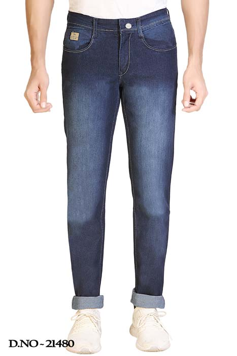 UTD STYLE 91008-D V SPRAY KNITTED DENIM