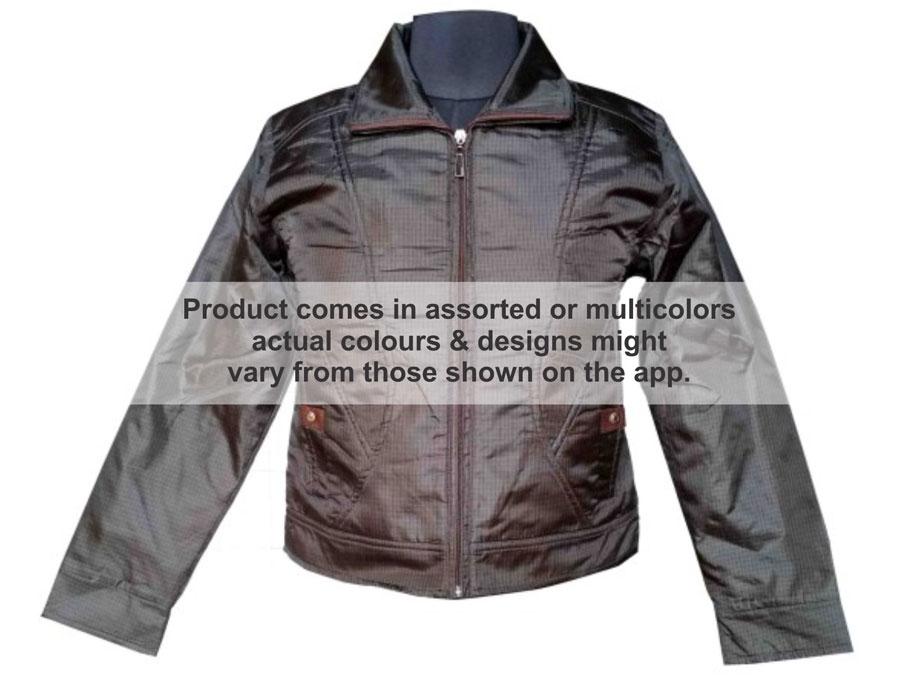 WJ FSPL04 -  Multi Colour Shining Winter Jacket- Short