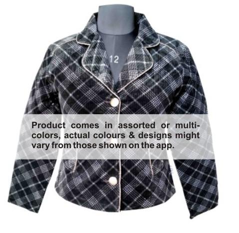 WJ FSPL04 -  Multi Colour Winter Jacket- Short