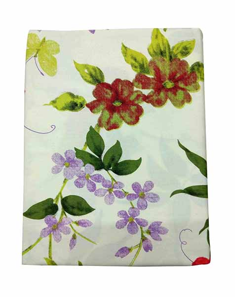VIVID -DESIGN 17 100 % COTTON DOUBLE BEDSHEET
