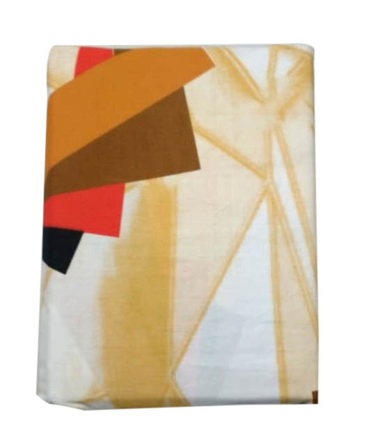 VIVID FEB 01-DESIGN 1 100 % COTTON DOUBLE BEDSHEET