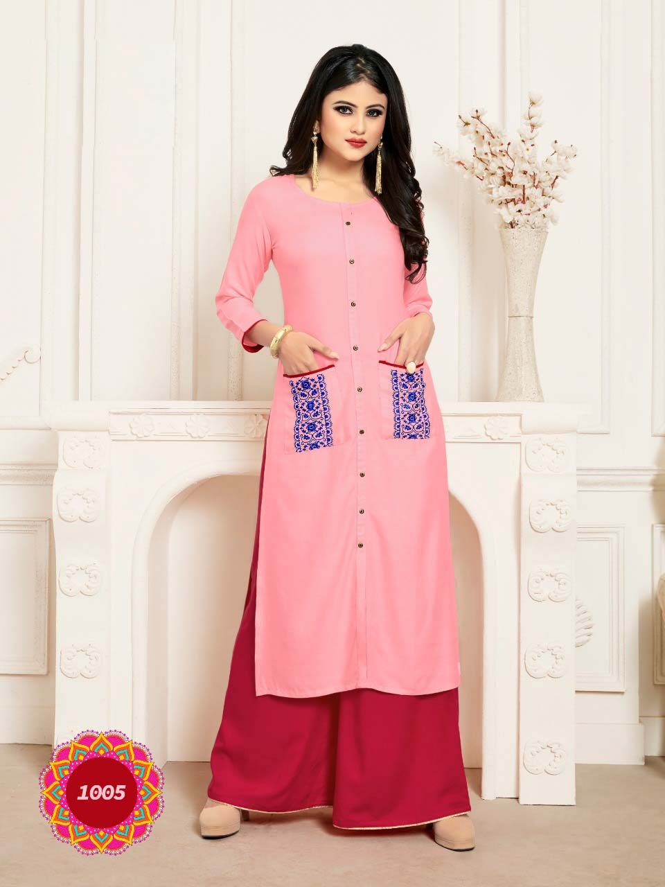 SUF SEP VICTORIYA 2019-D NO 1005 WOMEN KURTI