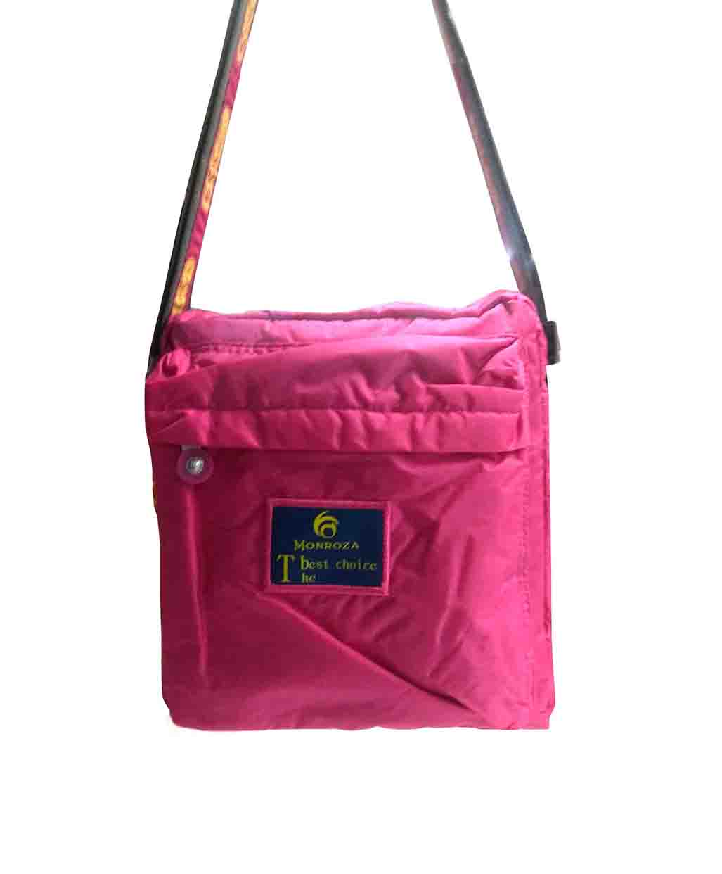 WHB SARA 12-PINK/YELLOW-WOMEN HANDBAG