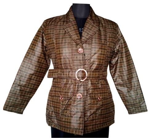 FSPL01 - Checks Mix Women's Winter Jacket
