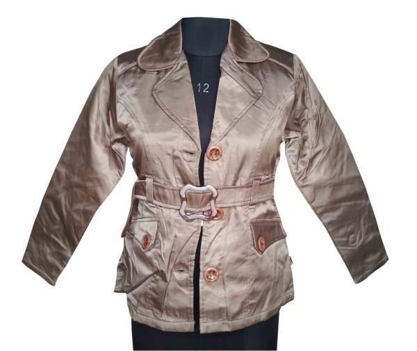 FSPL01 - Golden Off Green Women's Winter Jacket
