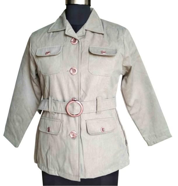 FSPL01 - Light Gray Women's Winter Jacket