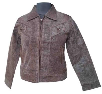 FSPL02 - Pv Dark Coffee Short Jacket