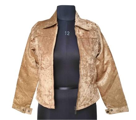 FSPL02 - Pv Golden Short Jacket