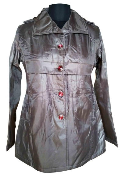 FSPL01 - Shining Dark Gray Women's Winter Jacket