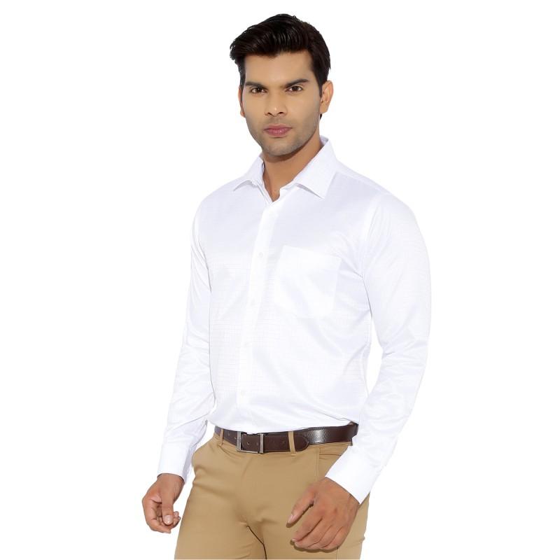 WOGL 10159 - White Formal Shirt