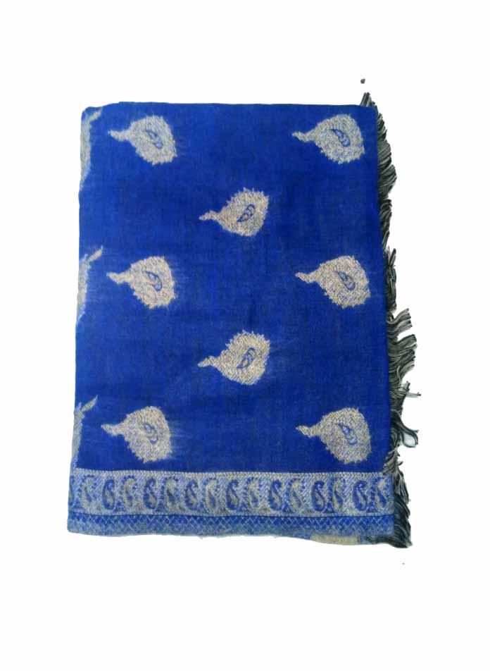 WOMEN SHAWL-BLUE-WSWL 165 D NO 2