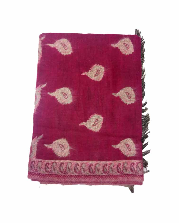 WOMEN SHAWL-PINK-WSWL 165 D NO 2