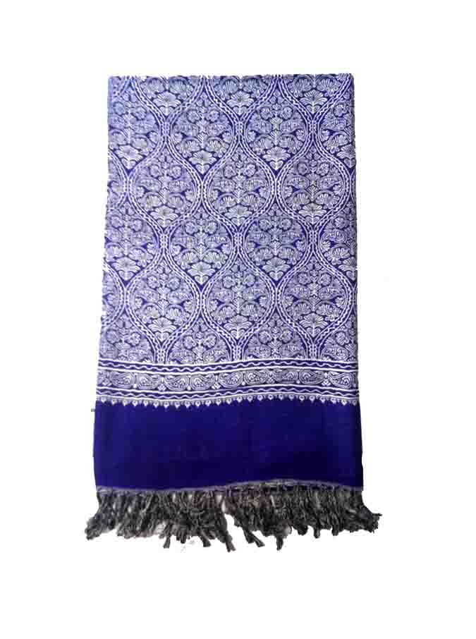 WOMEN SHAWL-BLUE-WSWL 235 D NO 2