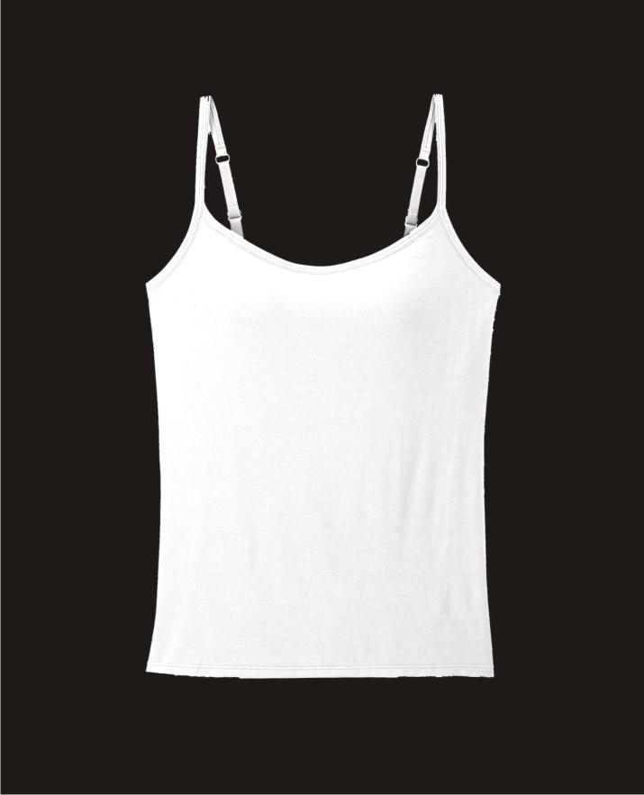 Camisole / slip-KS028-White