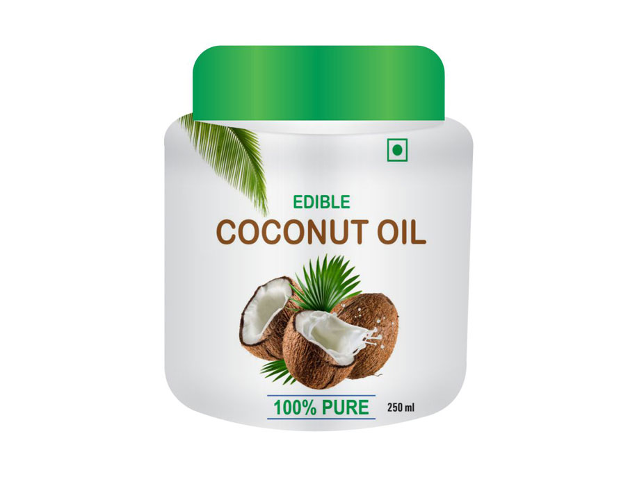 Edible Coconut Oil (jar)