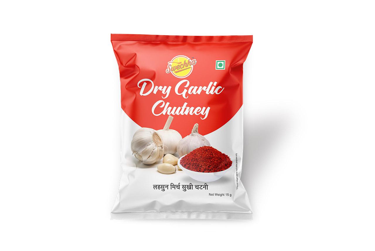 Swechha Dry Garlic Chutney(15g)