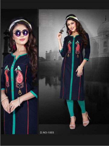 SanFash Freedom D1003-D NO 1003 WOMEN KURTI