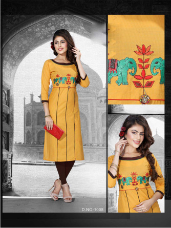 SanFash Freedom D1006-D NO 1006 WOMEN KURTI
