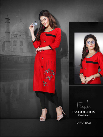 SanFash Freedom D1007-D NO 1007 WOMEN KURTI