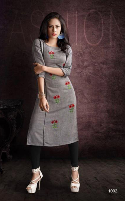 SUF SEP GLORY 2019-D NO 1002 WOMEN KURTI