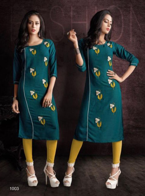 SUF SEP GLORY 2019-D NO 1003 WOMEN KURTI