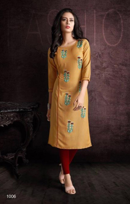 SUF SEP GLORY 2019-D NO 1006 WOMEN KURTI