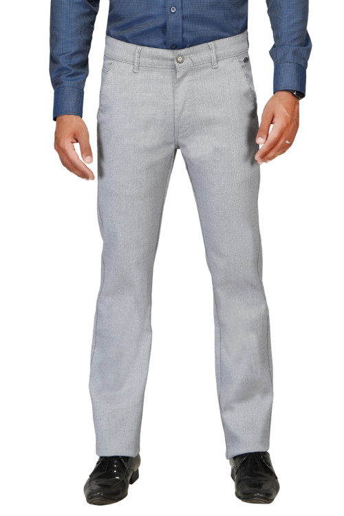 UTD D750 Grey/Blue Casual Trouser