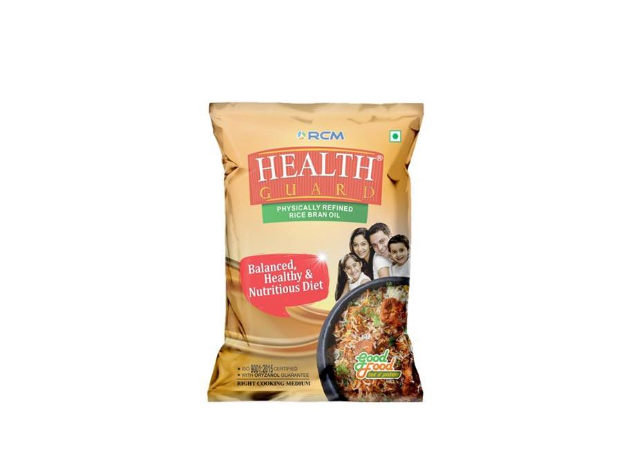Rcm Health Guard Rice Bran Oil(1ltr)