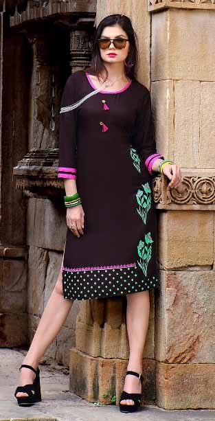 SMC JULIYANA 02-D NO 8 WOMEN KURTI