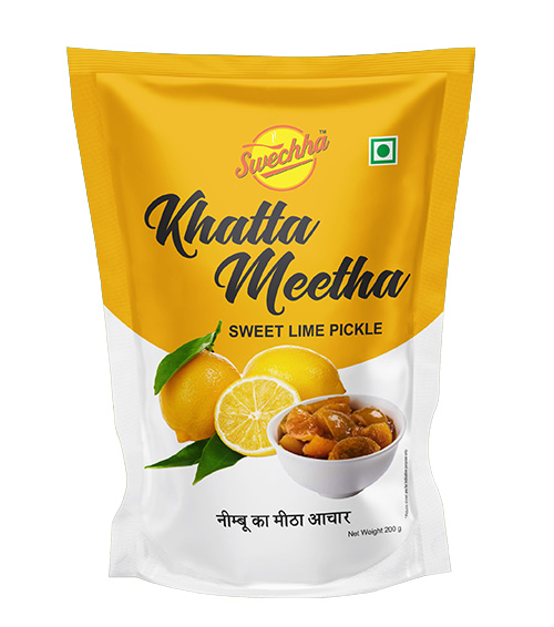 Swechha Khatta Meetha Pickle(200g)