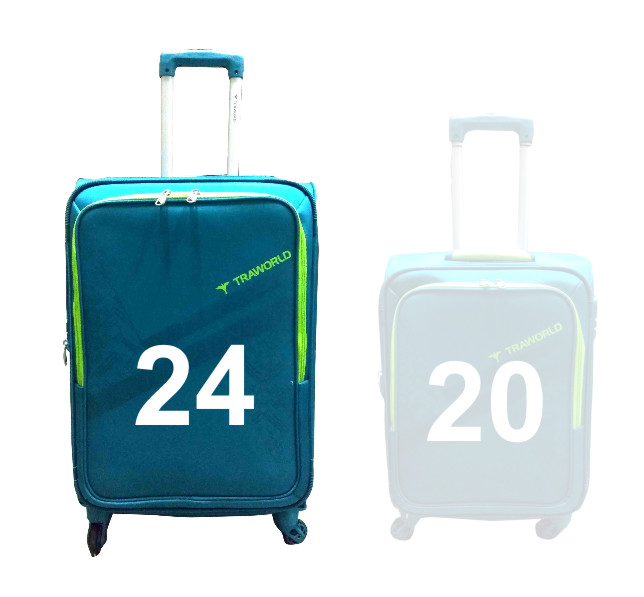 "TB MOURITIUS 24""-GREEN TRAVEL BAG"