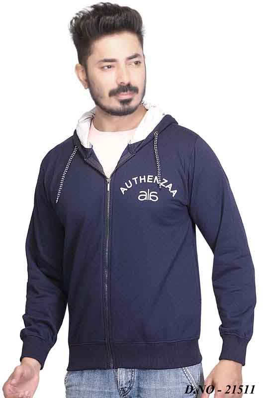 SWEAT SHIRT-NAVY-MSS VM 04