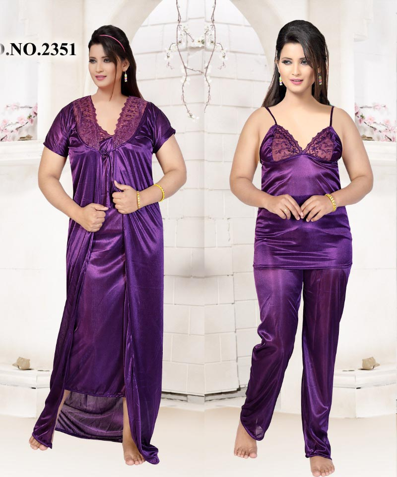 SATIN FOUR PIECE NIGHTY-D NO 1-KC MAY 2325