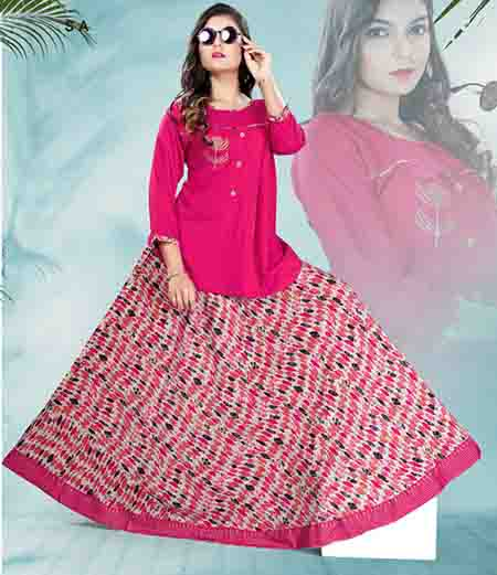 SC PADMAVATI 02-D NO 3 STYLISH WOMEN KURTI