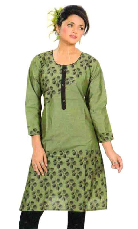 SMC PURVI 01-D NO 1 FULL SLEEVES COTTON LINEN KURTI