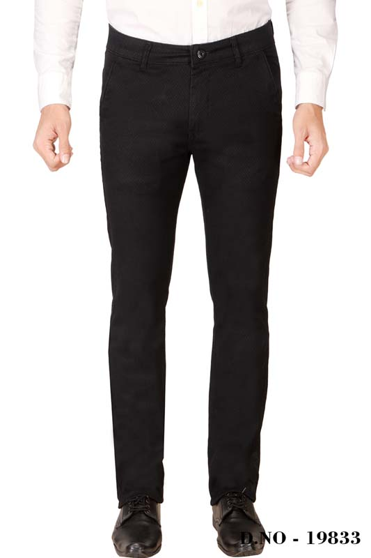 UTD ECO RANGE 2-BLACK CASUAL TROUSER