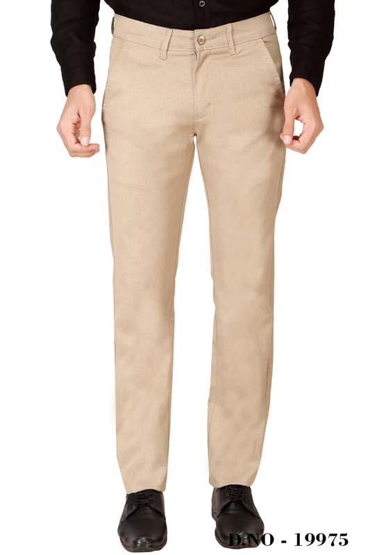 UTD ECO RANGE 3-CREAM CASUAL TROUSER