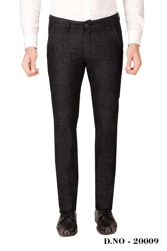 UTD ECO RANGE 4-BLACK CASUAL TROUSER