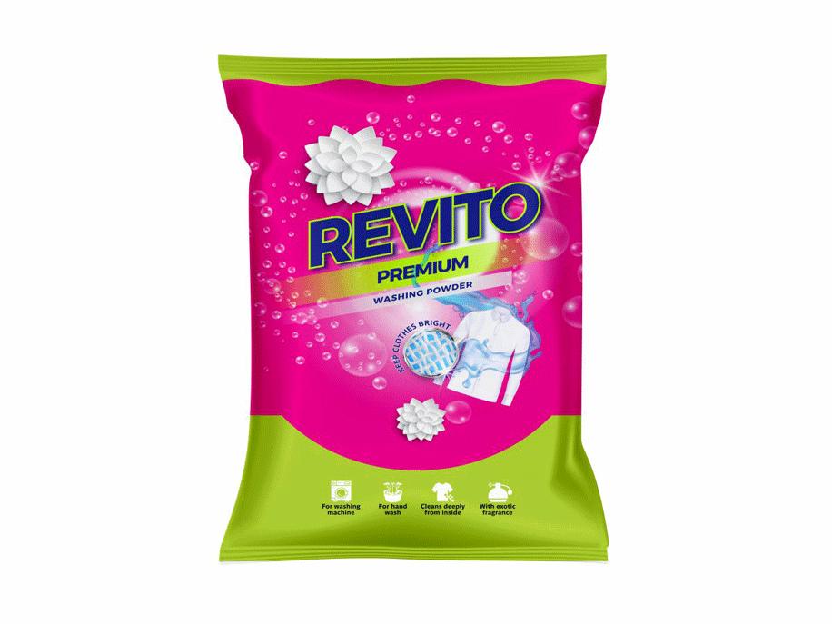 Revito Detergent Powder(2 kg)