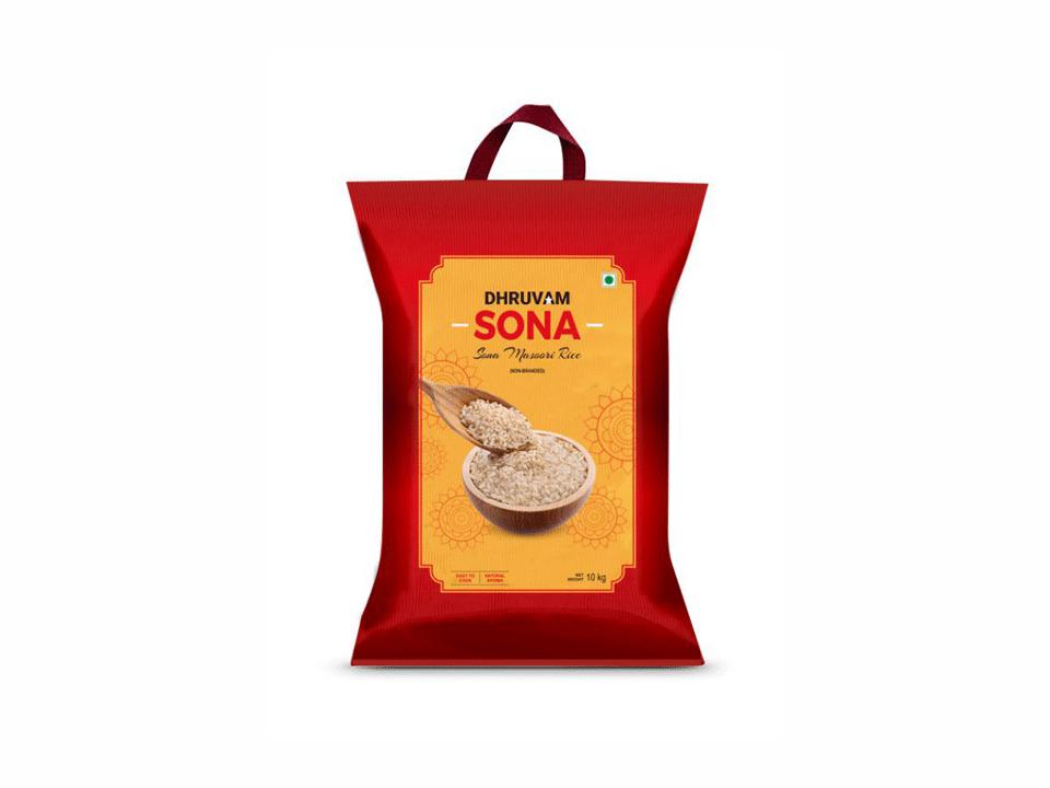 Dhruvam Sona Masoori Rice(10 kg)