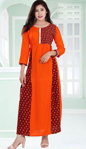 SC SANSKAR 01-D NO 1 STYLISH WOMEN KURTI