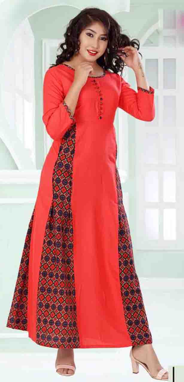SC SANSKAR 01-D NO 10 STYLISH WOMEN KURTI