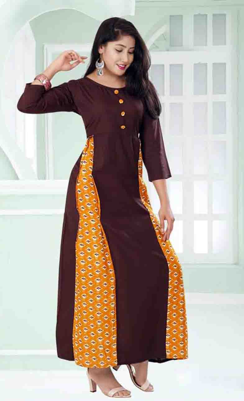 SC SANSKAR 01-D NO 3 STYLISH WOMEN KURTI