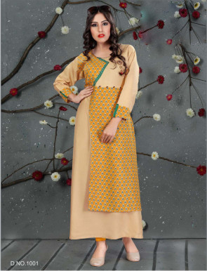 SC SANVI 01-D NO 1 STYLISH WOMEN KURTY
